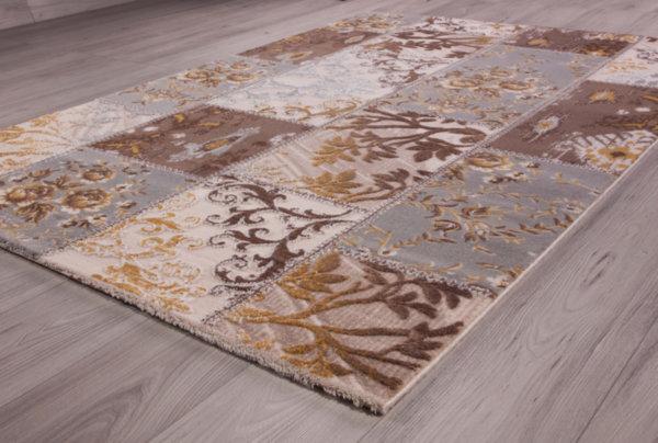 килим кармина 0074 крем/сив